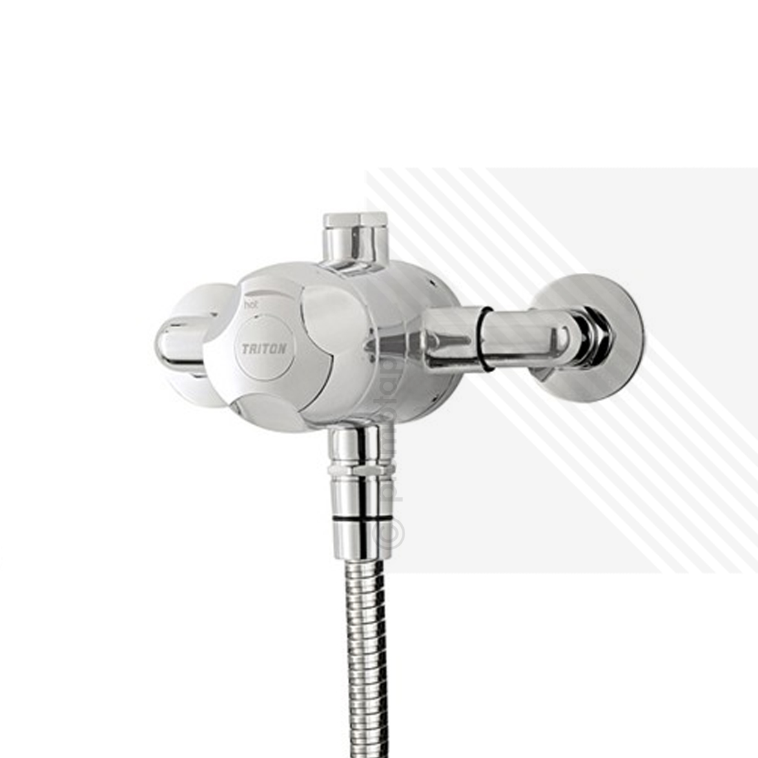 High Quality Professional Design Thermostatic Mixer Valve: Triton Dove Sequential Exposed Thermostatic Shower Mixer